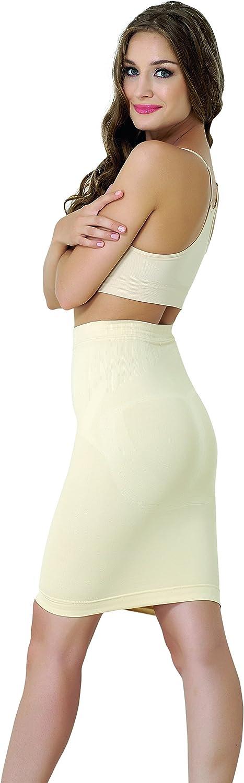 UnsichtBra Falda Reductora de Mujer de Talle Alto: Amazon.es: Ropa ...