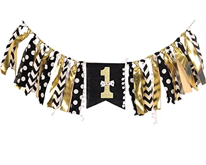 WAOUH HighChair Banner for 1st Birthday - First Birthday Decorations for  Photo Booth Props 37c61819b