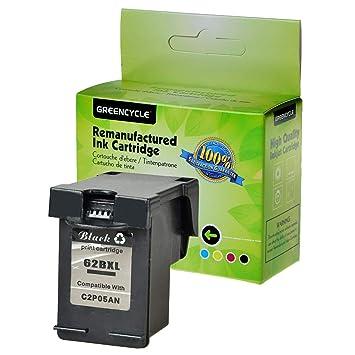 1PK Black 62XL Ink For HP ENVY 5541 5542 5543 5546 5547 5548 7643 7645 8000 8005