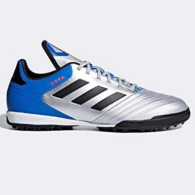 756e01c6d1f0f2 Adidas Copa Tango 18.3 Astro Turf Football Trainers Mens Silver Soccer Shoes
