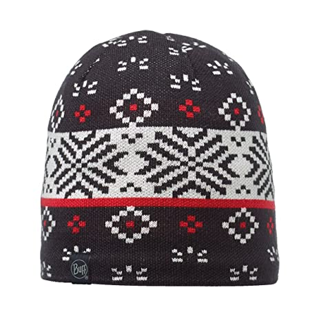01de147f0c7 Amazon.com  Buff Adult Knitted   Polar Patterned Beanie Hat One Size ...