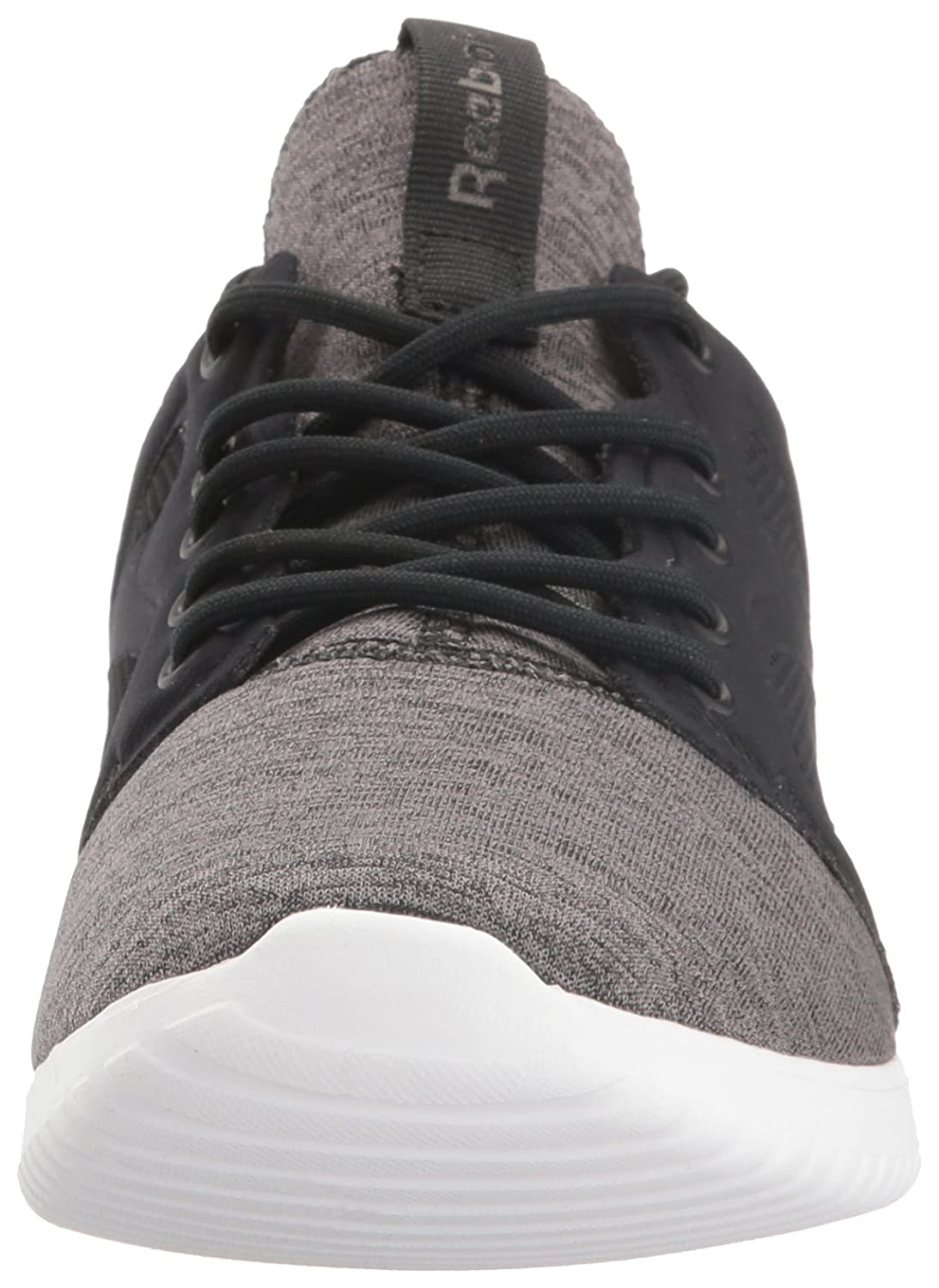 Reebok Women's Skycush Evolution Lux Fashion Sneaker B01I0FQ72G 9 B(M) US|Black/White