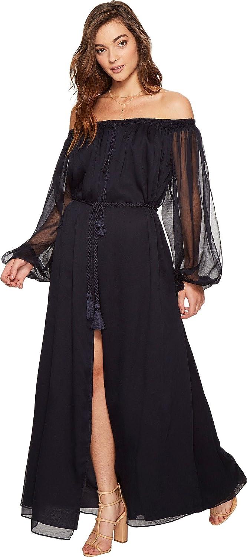 cb14b75f7c4 The Jetset Diaries Women s Babette Maxi Dress Navy Small at Amazon Women s  Clothing store