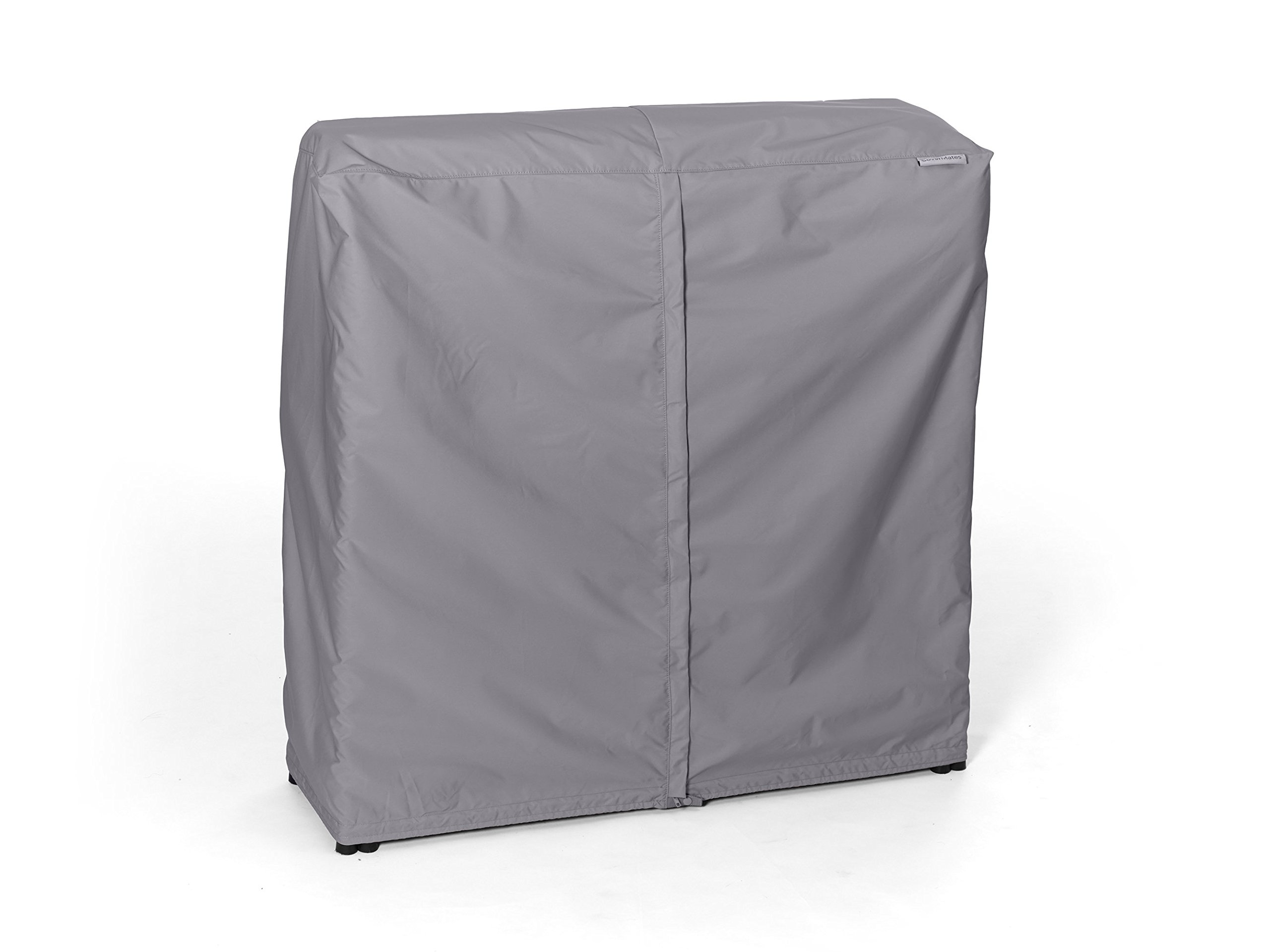 Covermates - Log Rack Cover - 4 FT 50L x 25W x 44H - Elite Collection - 3 YR Warranty - Year Around Protection - Charcoal