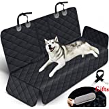 Waterproof Pet Seat Cover Car Seat Cover Protector for Dogs, Heavy Duty Scratch Proof Nonslip Durable Soft Pet Back Seat Cove