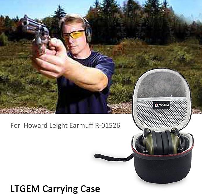 Storage Case for Howard Leigh awesafe Electronic Shooting Earmuff