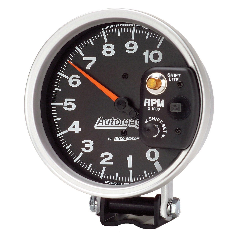 Amazon.com: Auto Meter 233903 Autogage Monster Shift-Lite Tachometer:  Automotive