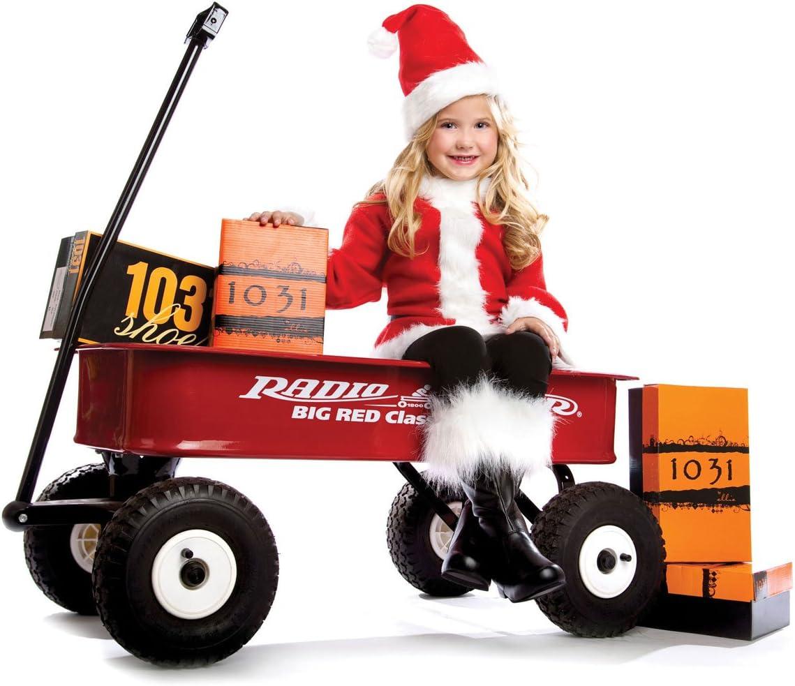 Childrens Ellie Shoes 1 Santa Boot XL BLKP