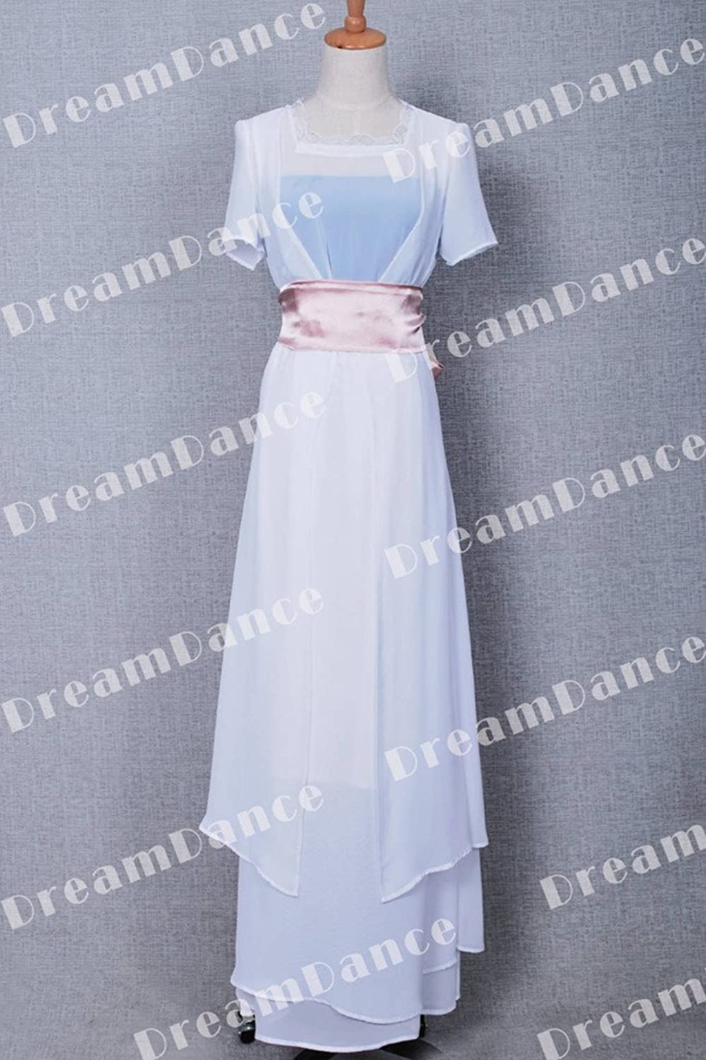 Amazon.com: FancyStyle Titanic Cosplay Rose Costume Swim Gown Dress White:  Clothing