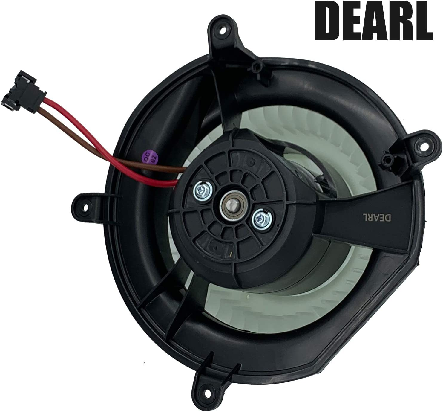 08-09 E300 08-10 CLS550 63 AMG 04-06 E55 AMG Front AC Heater Blower Motor with Fan Compatible with 07-09 CLS350 E280 E550 E63 AMG// 06-09 CLS500 E350 04-09 E500 03-09 E320