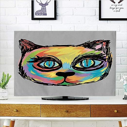 Cubierta de polvo para televisor LCD, dibujos animados, personajes ...