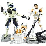 Clone Captain Rex und Clone Commander Cody im Set - lose /ausgepackt - Star Wars The Clone Wars Collection von Hasbro