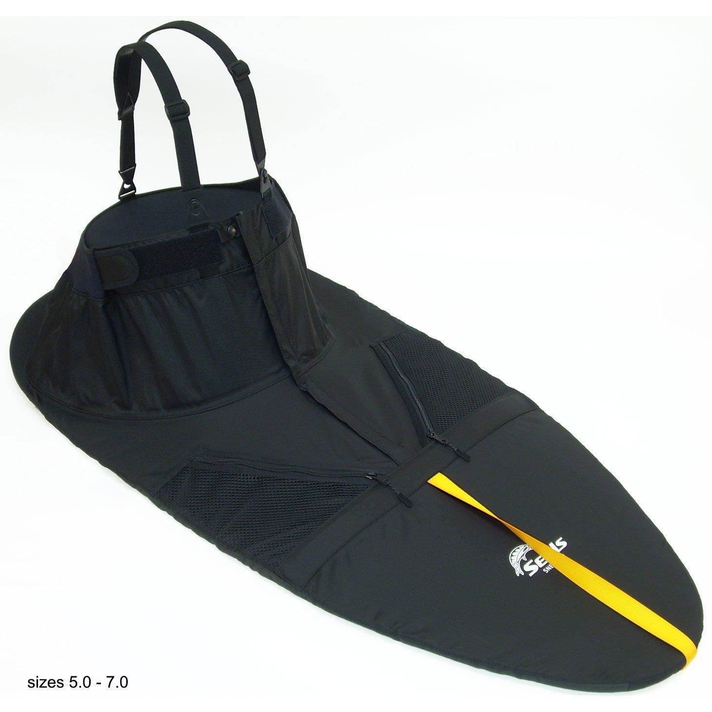 SEALS Sneak Sprayskirt, 5. Black One Size