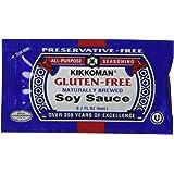 Kikkoman Gluten Free Soy Sauce, 200 Count