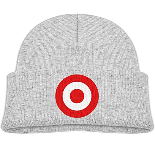 Amazon.com  Beanie Hats Wool Knit Caps Red Target Bullseye Boys Girls Baby  Soft  Clothing 5479bbf2dc66