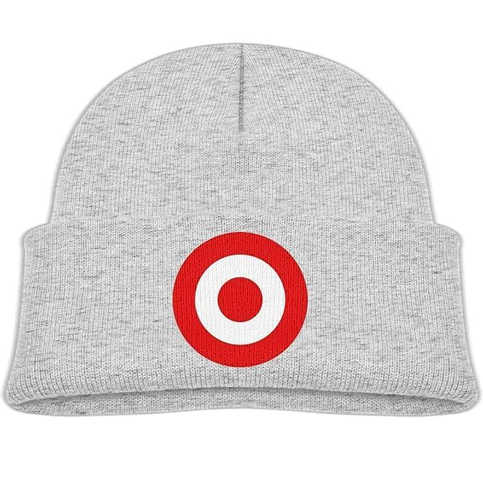 Amazon.com  Beanie Hats Wool Knit Caps Red Target Bullseye Boys ... c31da428db9