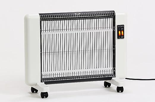 遠赤外線輻射式セラミックヒーター 604型 【正規販売店】 サンラメラ 暖房 600W型 ホワイト