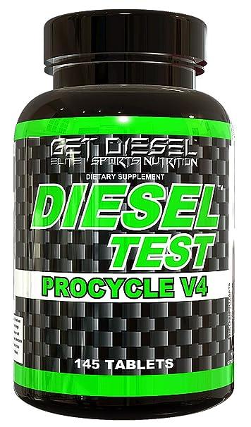 GET Diesel Testosterone Booster Estrogen Blocker Diesel Test Procycle V4 145 Tabs Strongest Legal Test Booster