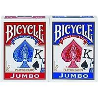 Bicycle Jumbo - Juego de Cartas (2 Unidades)