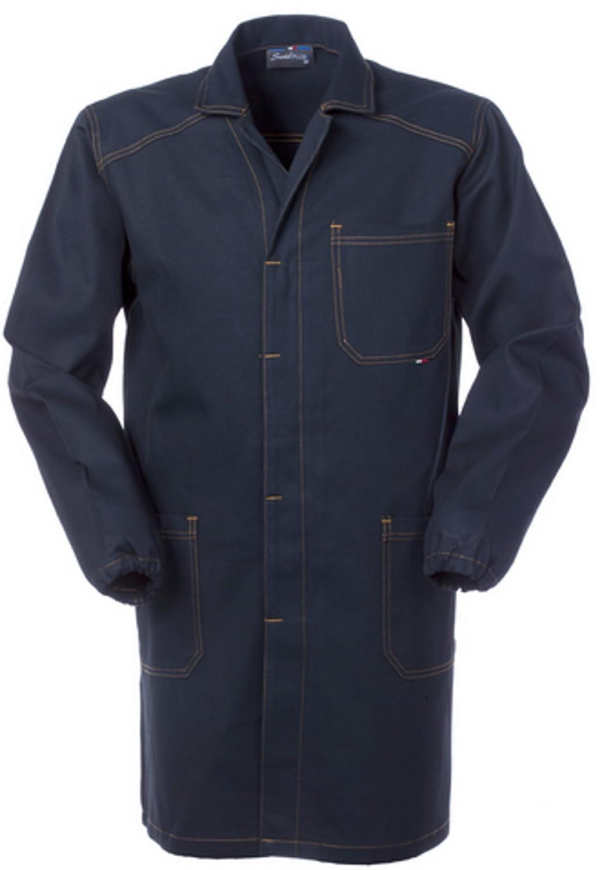 Camice Uomo da Tecnico O Officina Generica Blu Scuro Tessuto Robusto A60109 SERIO PLUS
