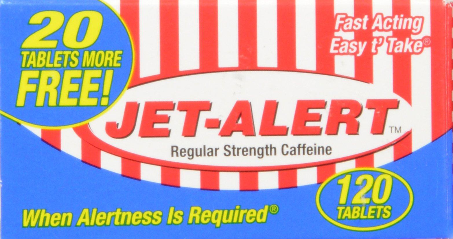 Jet-Alert 100 MG Each Caffeine Tab 120 Count