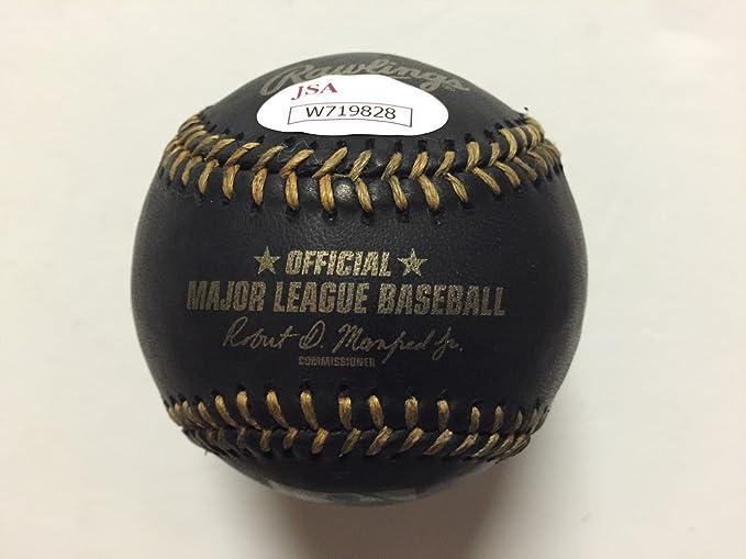 Autographed//Signed Maikel Franco Rawlings Official Major League ROML Baseball JSA COA /& Photo