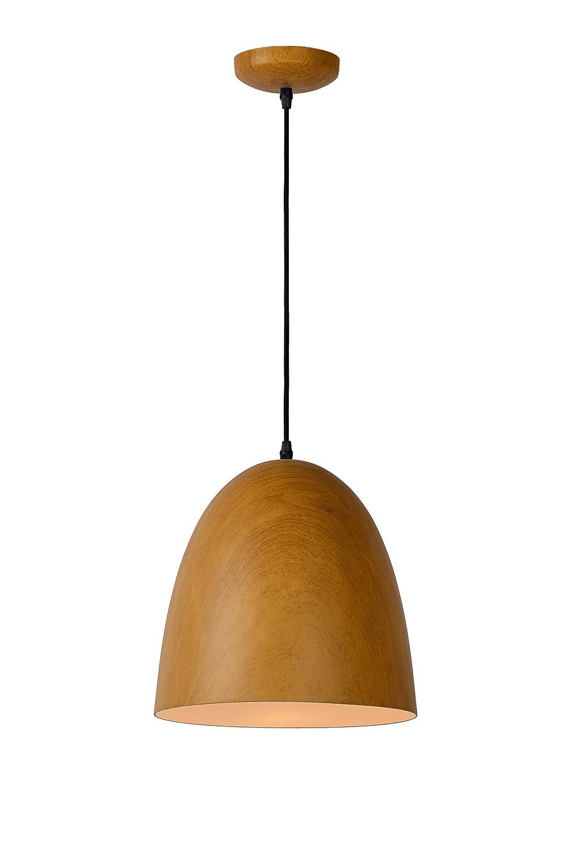 Lucide WOODY - Pendelleuchten - Ø 30 cm - Holz