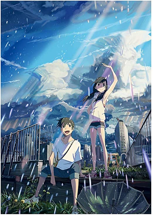 Amazon Com Aristory Anime Weathering With You Manga Wall Poster Painting Home Decor H01 Posters Prints
