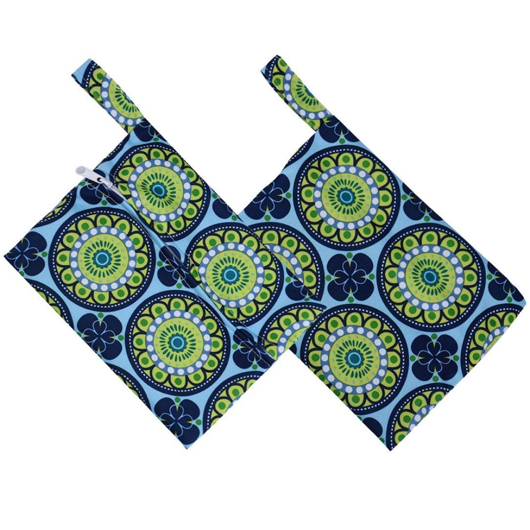 Menstrual Pad Bag Sainagce Reusable Washable Wet Bag For Sanitary Pad Menstrual Sanitary Aunt Bag B