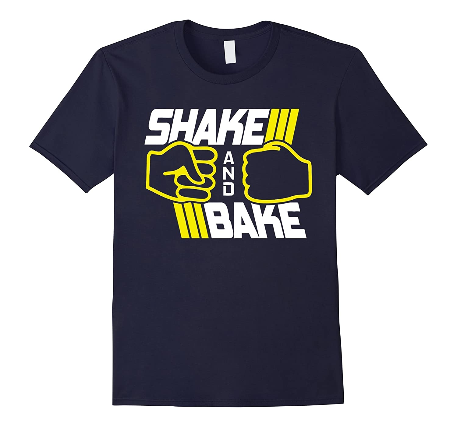 Shake and Bake Ricky Bobby Funny Racing T-shirt-TD
