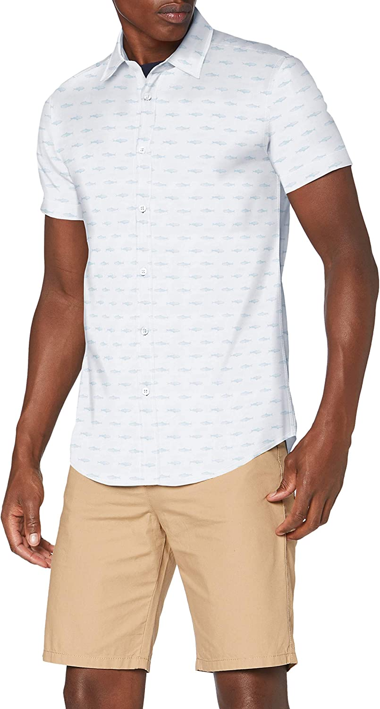 United Colors of Benetton Z6ERJ Camicia Camisa para Hombre