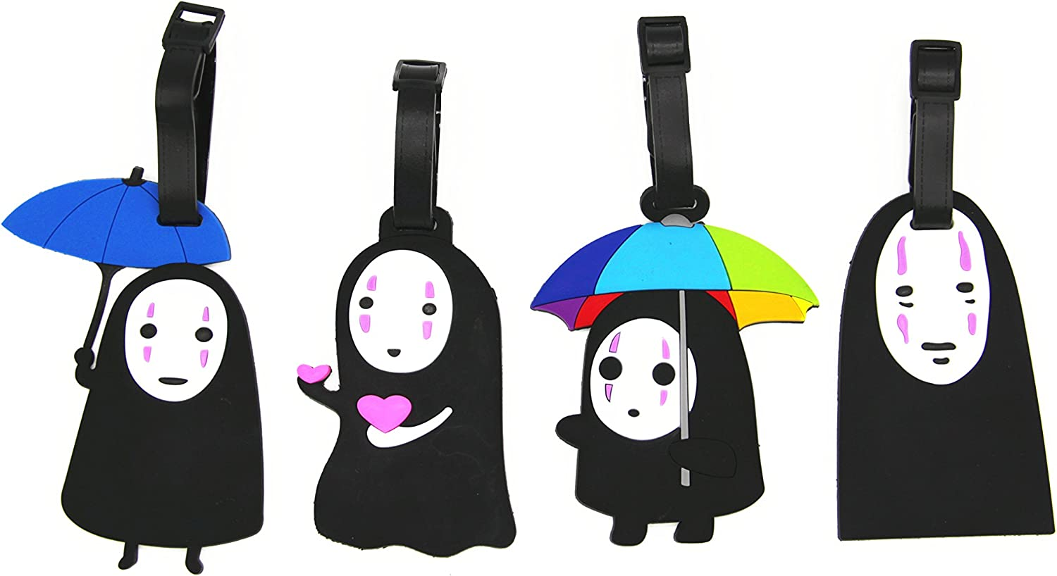NOT Tokyo Ghoul Kaneki Luggage Tags Luggage Tag With Privacy Cover Unisex 1 PCS