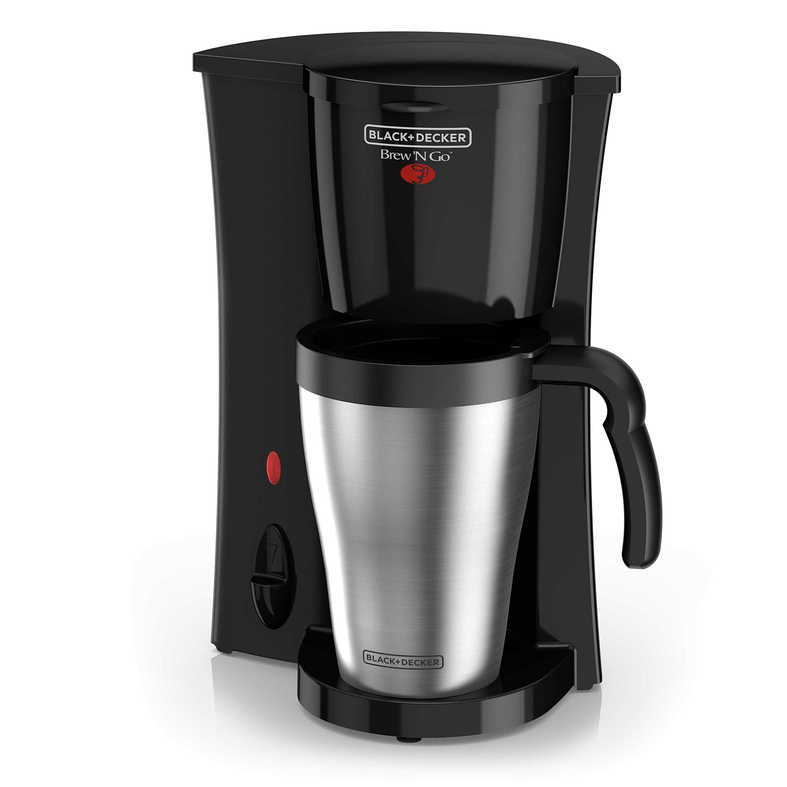 BLACK+DECKER DCM18S Coffeemaker, 1, Black/Stainless Steel by BLACK+DECKER