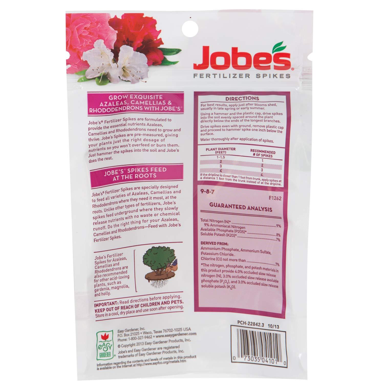 Amazon Jobes Fertilizer Spikes For Azalea Camellia And