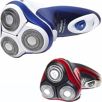 Afeitadora recargable 3 cabezales Wet & Dry Smooth Shave Talla ...