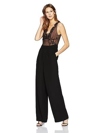 999a54e43819 Amazon.com  Kendall + Kylie Women s Lace Jumpsuit  Clothing