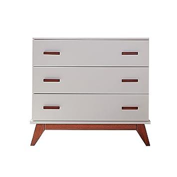 Amazon.com: DwellStudio Norfolk 3 cajón Dresser, Francés ...