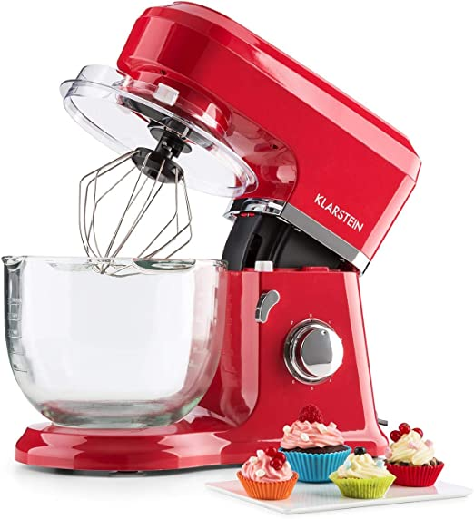 Klarstein Allegra Rossa robot de cocina multifunción amasadora ...