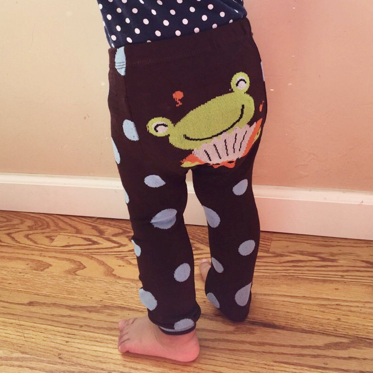 Go Go Giraffe 6 to 12 Months Wrapables Baby /& Toddler Leggings