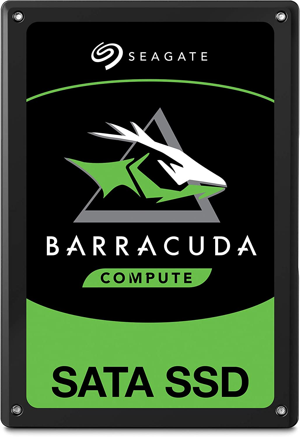 Seagate BarraCuda SSD 250GB Internal Solid State Drive – 2.5 Inch SATA 6Gb/s for Computer Desktop PC Laptop (STGS250401)