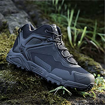 21ffd8b8e12 Amazon.com: Mens Hiking Shoes Outdoor Camouflage Trekking Boots ...