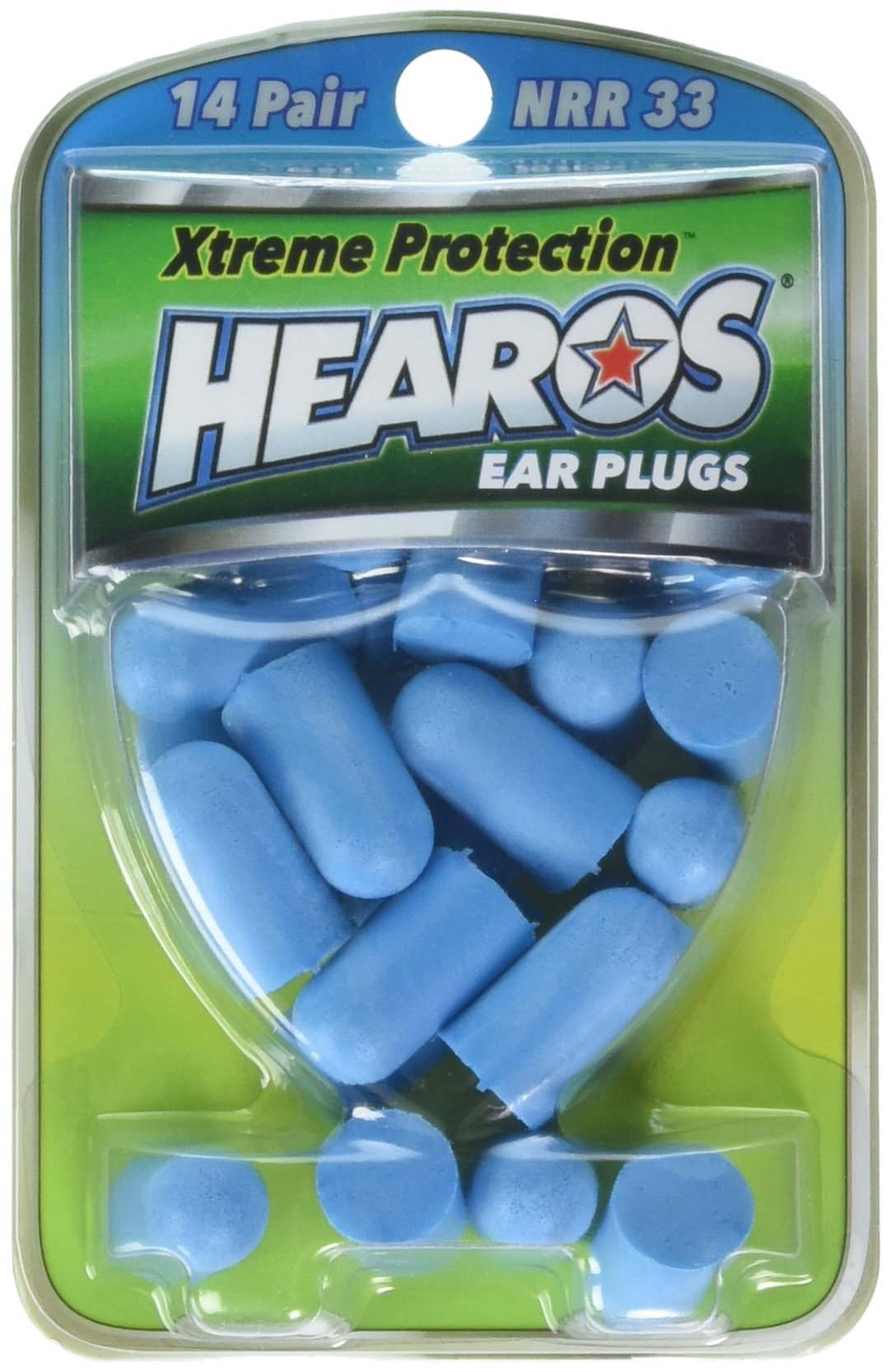 Hearos Ear Plugs Xtreme Protection Series 14 pairs ( Pack of 2)