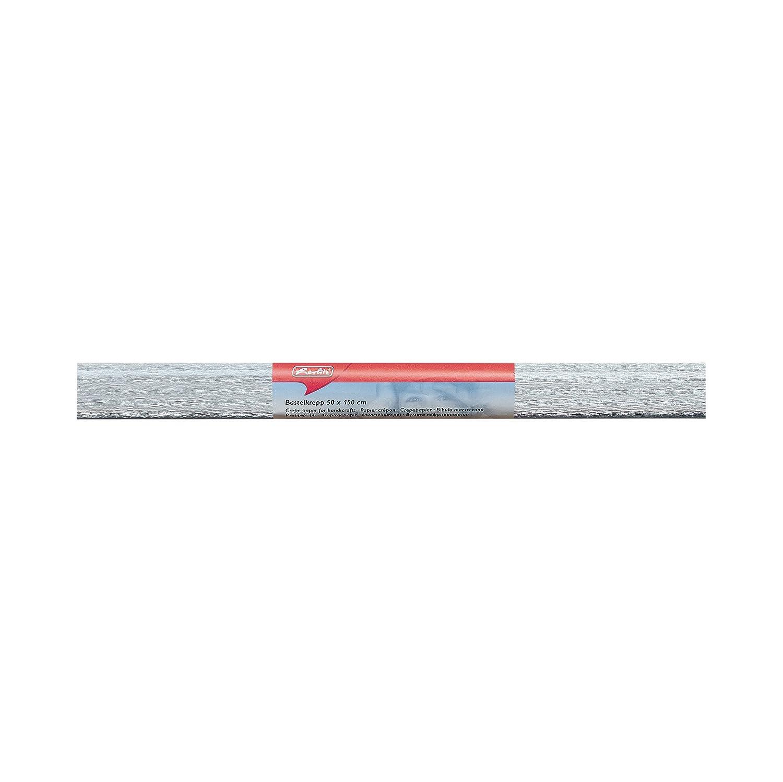 Herlitz 253179crepé de papel, (B) 500x (L) 1.500mm, Plata