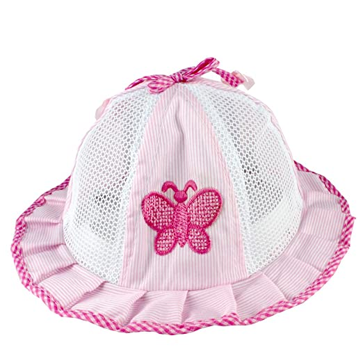 780cc5e1b5ca6 Image Unavailable. Image not available for. Color  Easykan Kids Girls Newborn  Infant Sun Hat ...