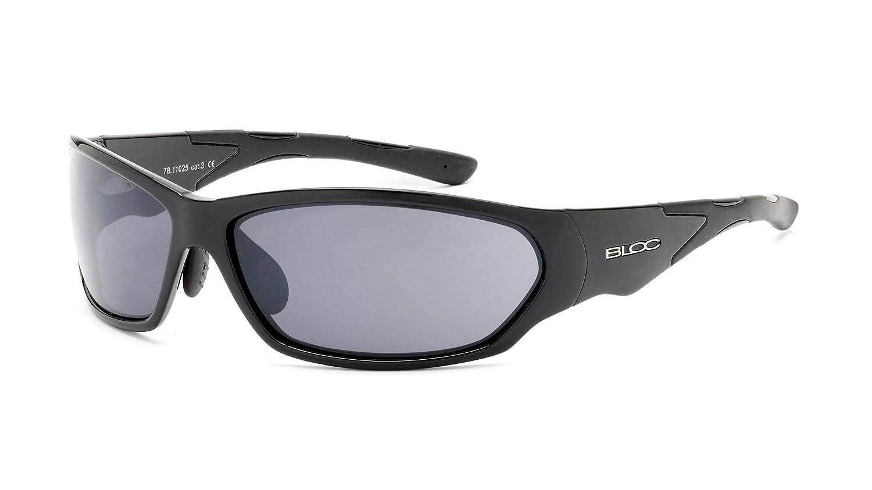 921181e674 Bloc Eyewear Men s California Sunglasses - Black  Amazon.co.uk  Sports    Outdoors