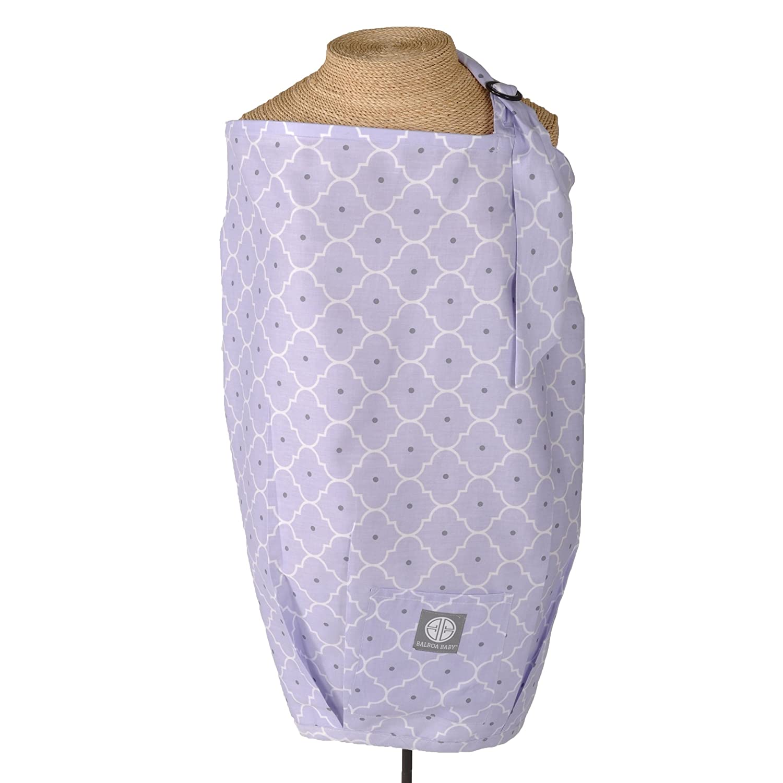 Balboa Baby Nursing Cover Lavender Trellis, Purple 10232