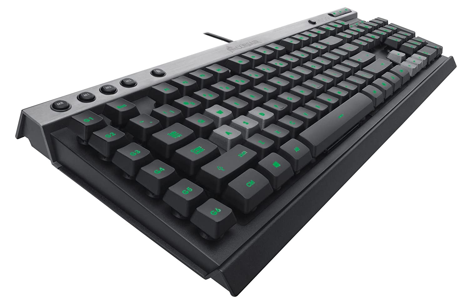 Corsair K40 Gaming Keyboard, 6 Programmable G Keys, Backlit Multicolor LED (CH-9000223-NA)