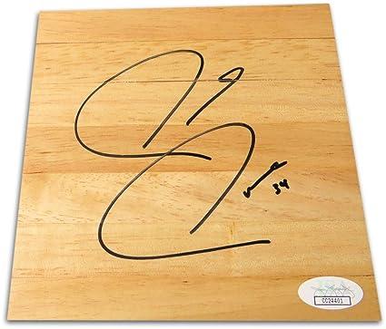 b167dfd36 Paul Pierce Signed Autographed 6X6 Floor Piece Boston Celtics JSA CC24401