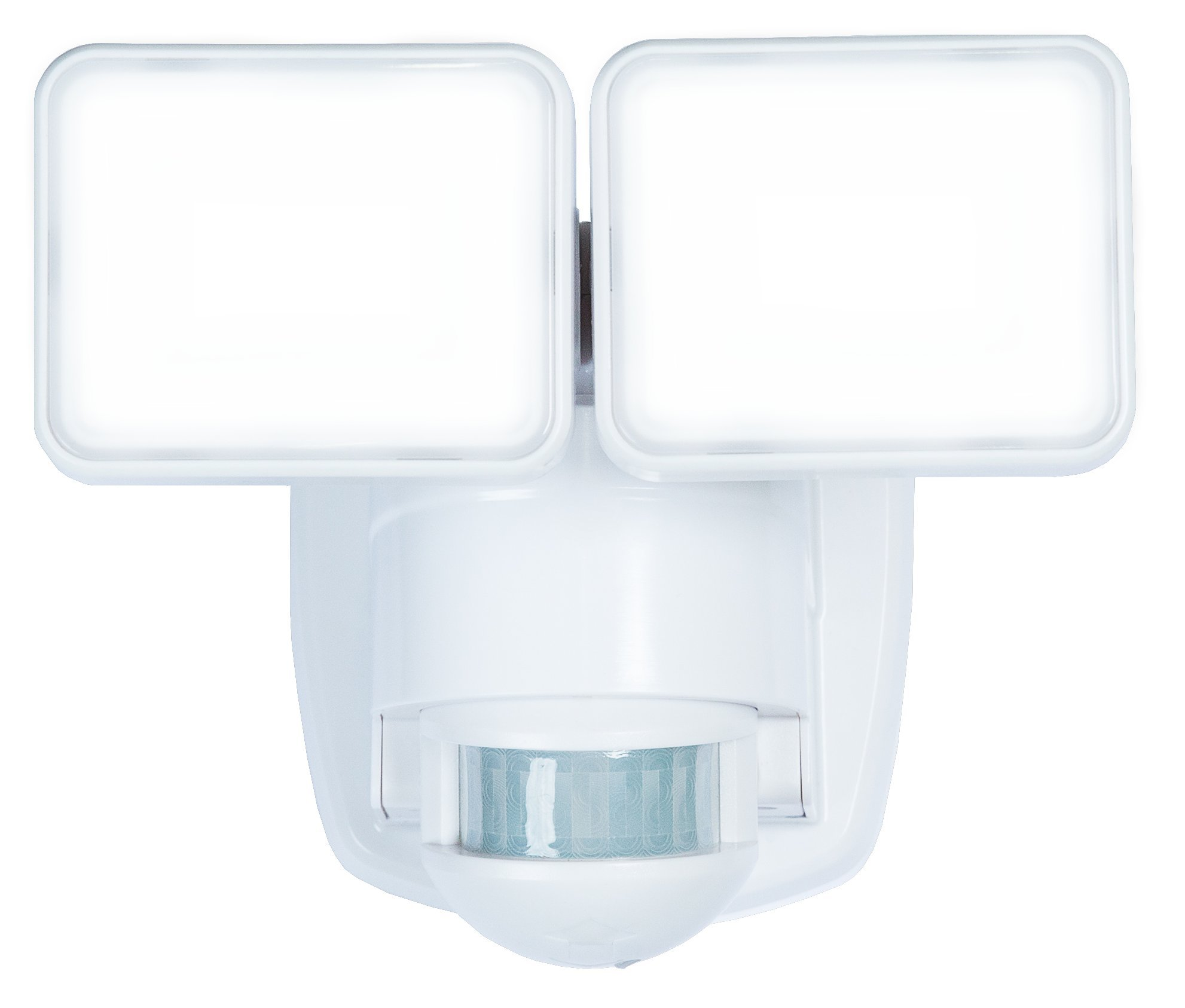 Heath Zenith HZ-5846-WH LED Motion Activated Security Light 1250 Lumen Output and 180 Degree Detection Zone up to 40 ft. , White