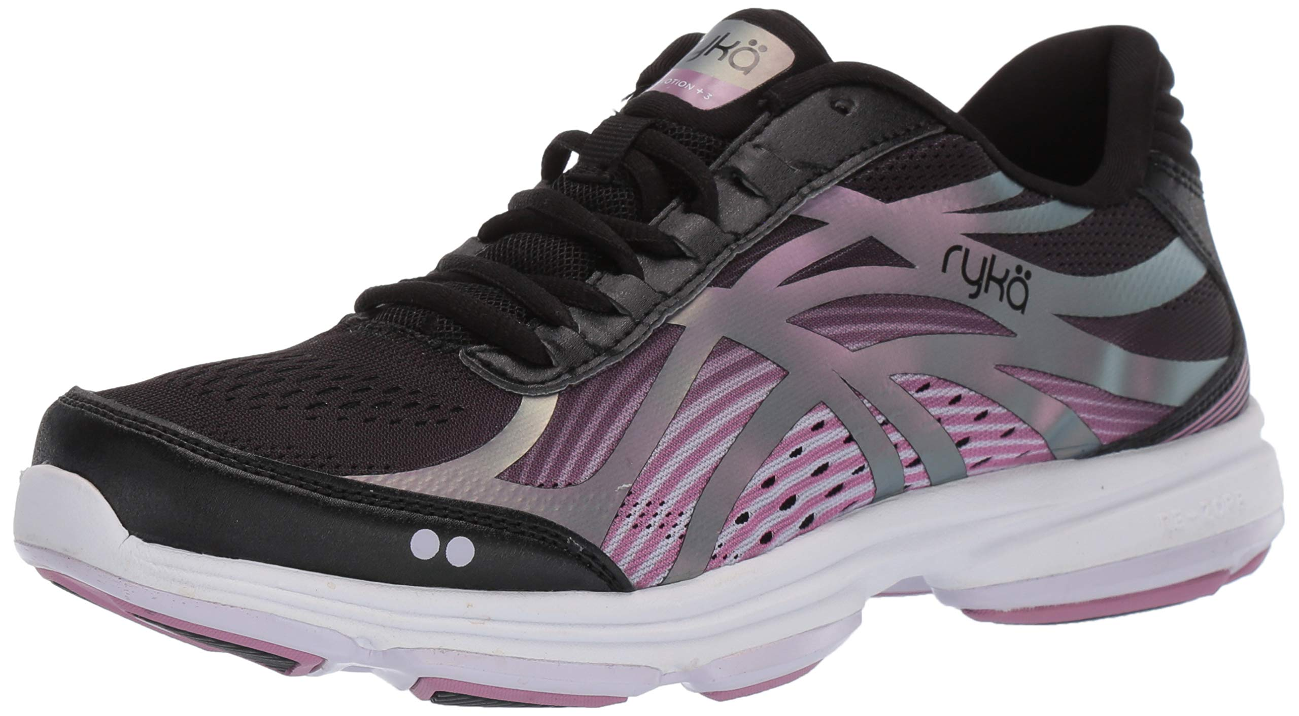 Ryka Women's Devotion Plus 3 Walking Shoe, Black, 11 W US by Ryka